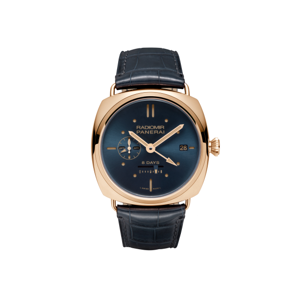 panerai 45 gmt 8 days special rose gold edition