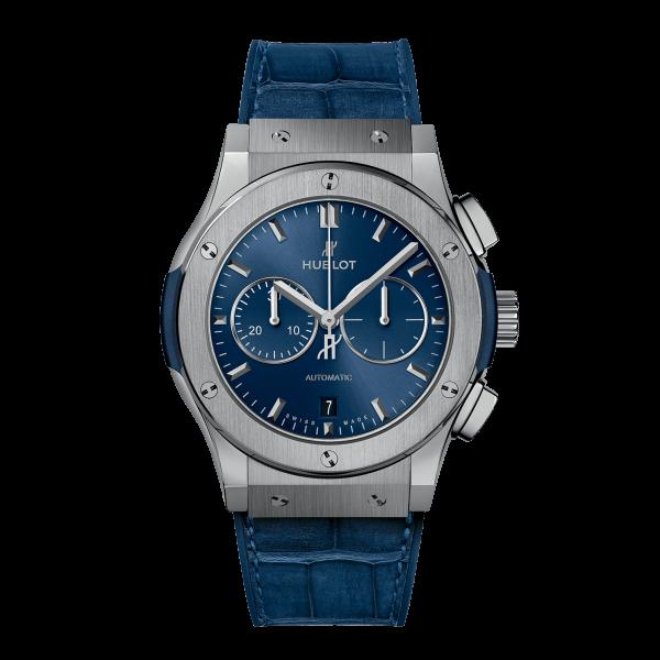 Hublot Classic Fusion Titanium Blue
