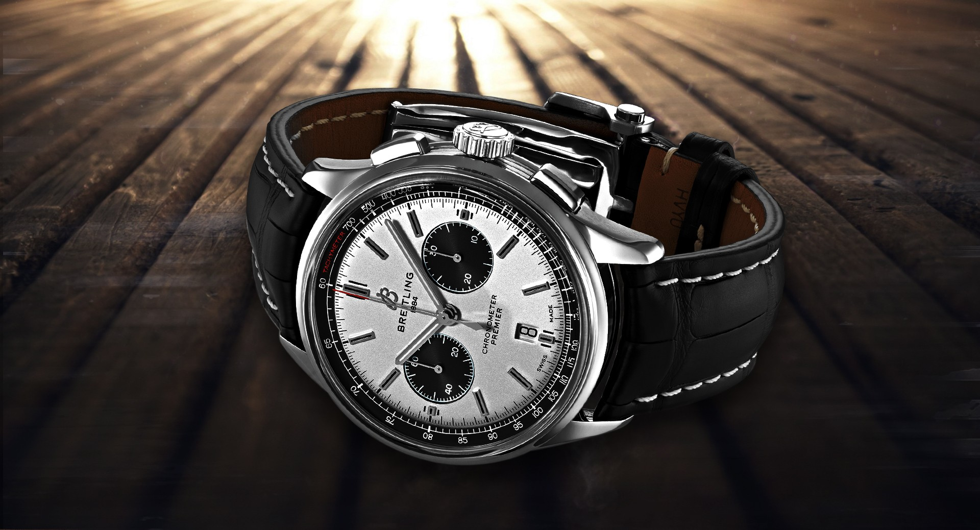 Breitling B01 Chronograph header